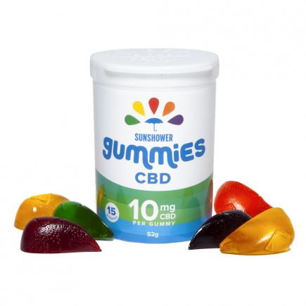 CBD Sunshower Gummies - 150mg