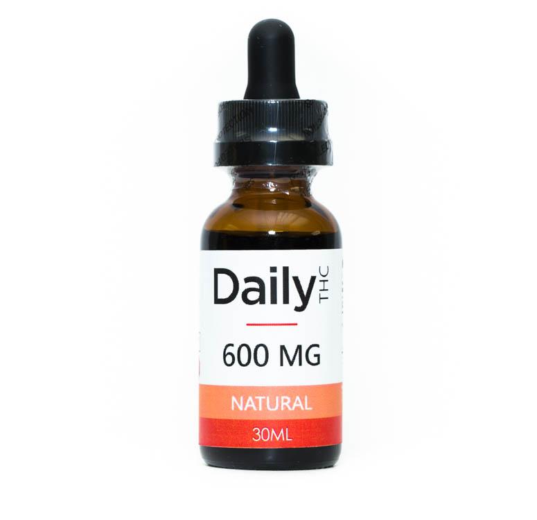 Daily Tincture - Full Spectrum THC: Natural