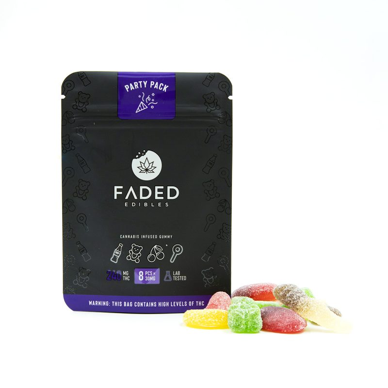 Faded Edibles - Assorted THC Gummies