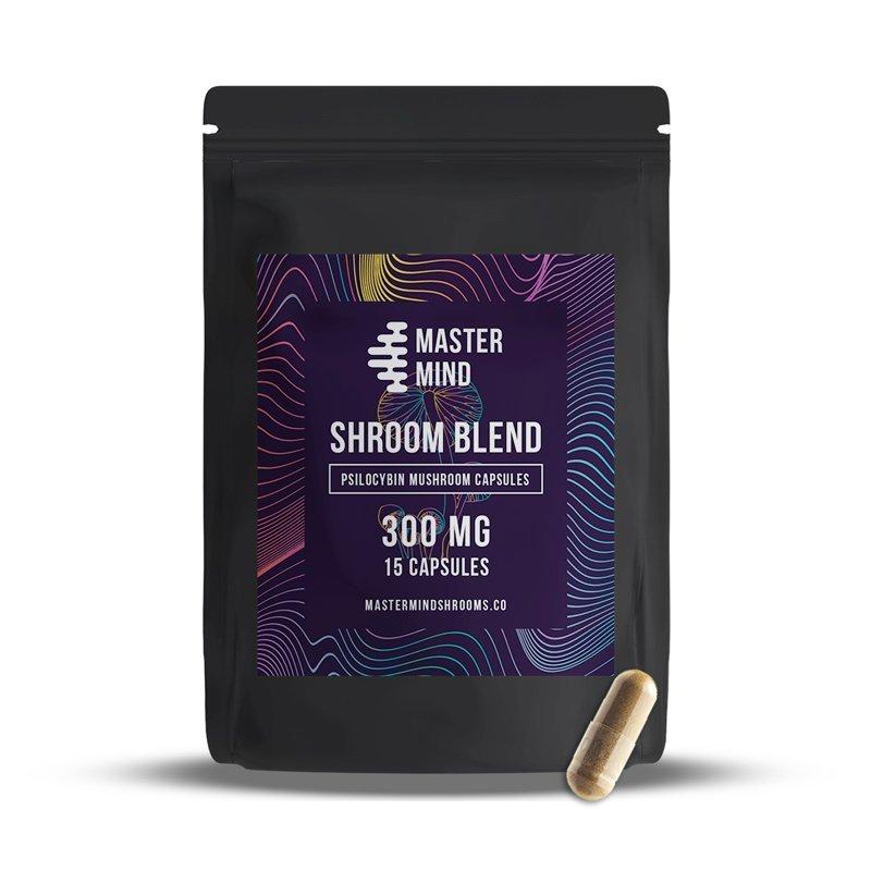 MasterMind - Shroom Blend Capsules (15x300mg)