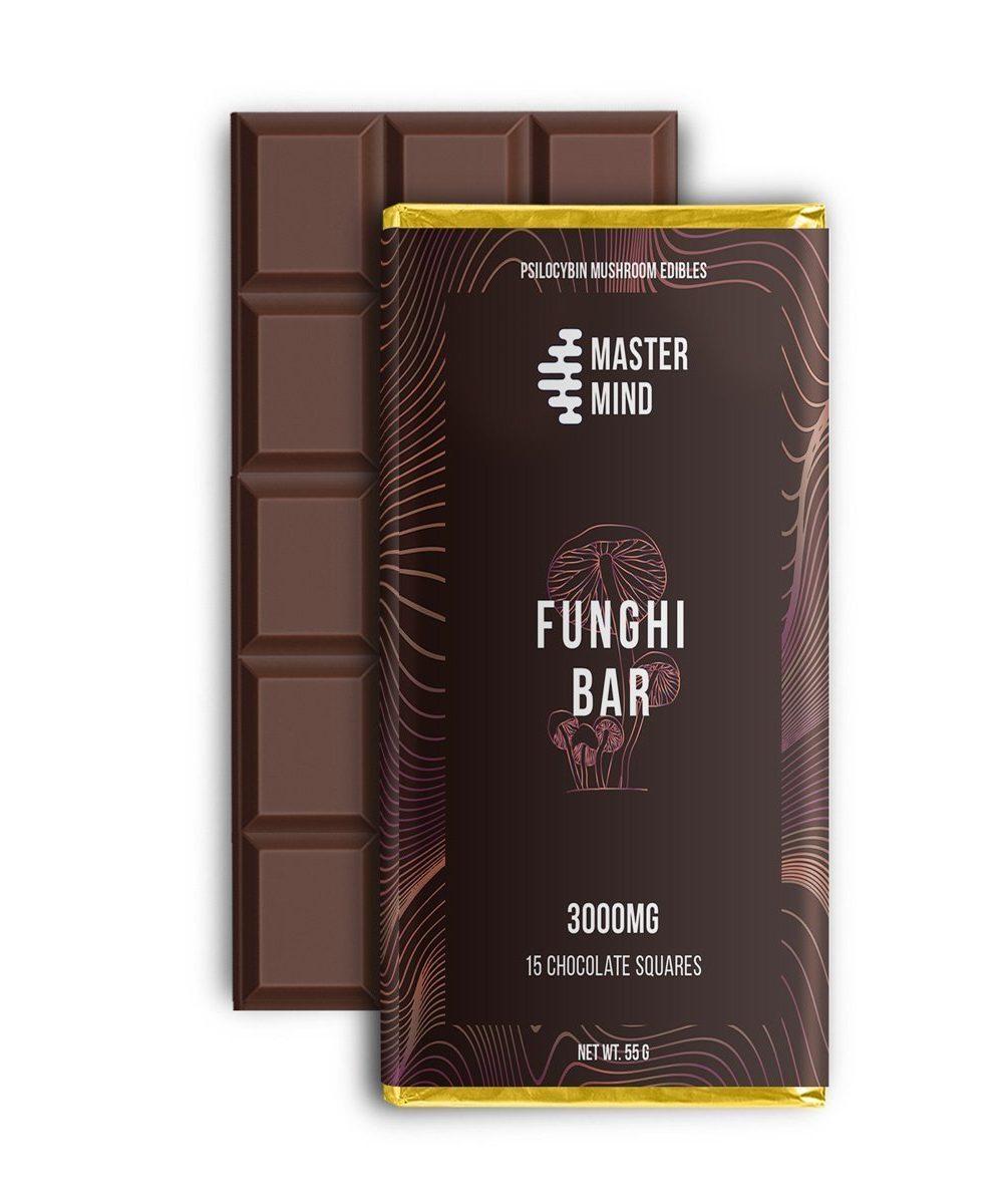 MasterMind - Funghi Milk Chocolate (3000mg)