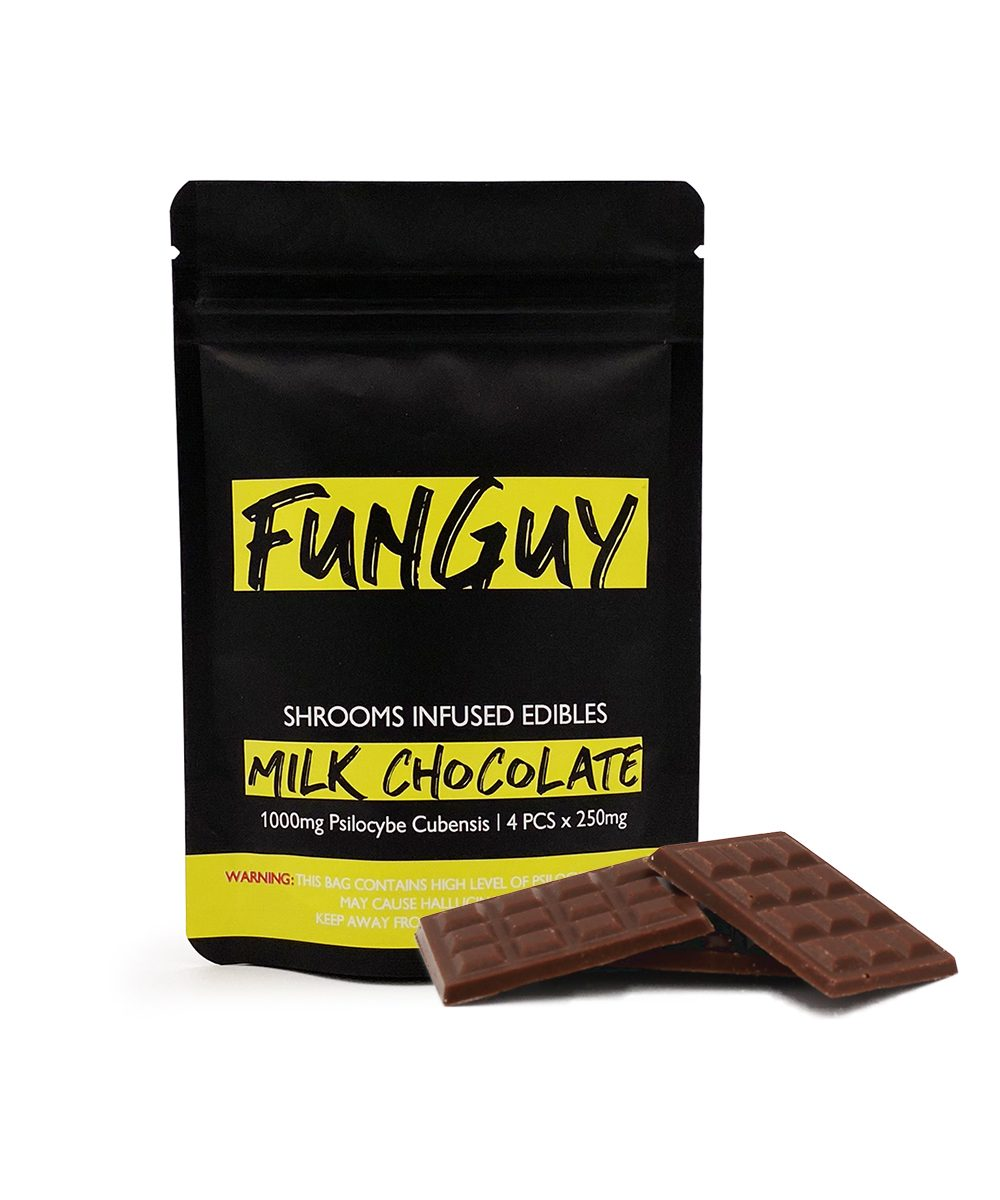 FUNGUY – MILK CHOCOLATE BAR