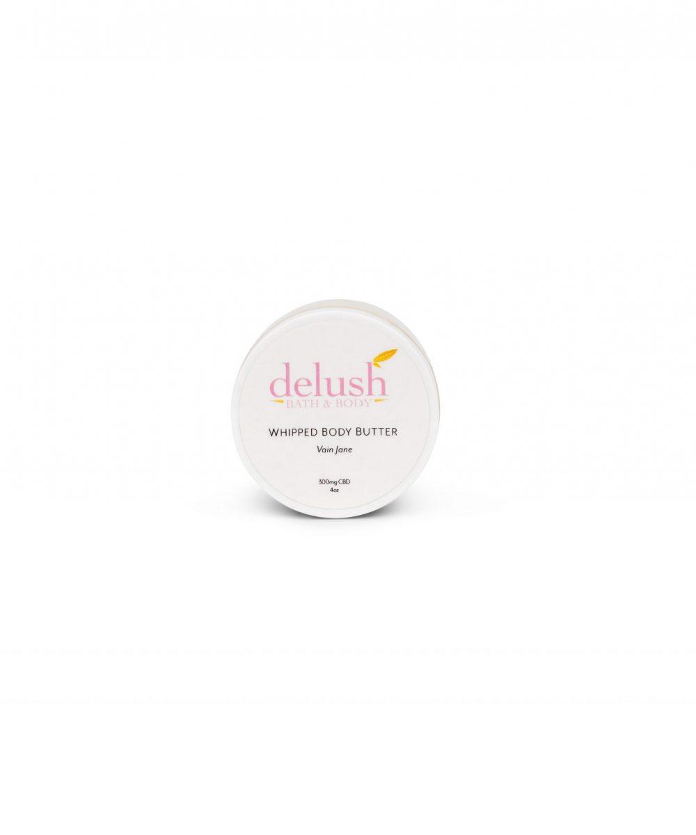 Delush - CBD Whipped Body Butter (300mg CBD)