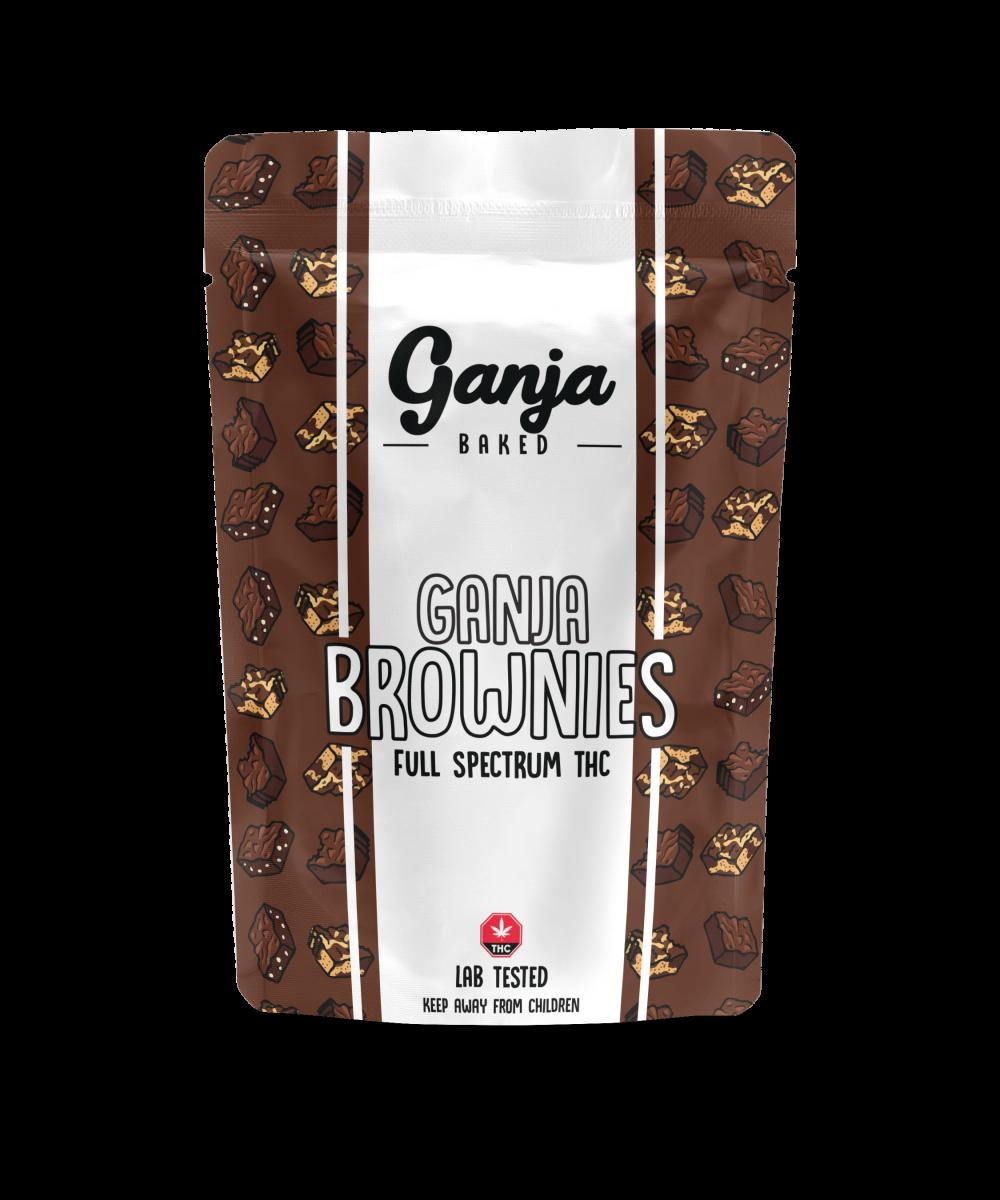 Ganja Baked – Marble Brownie 600mg