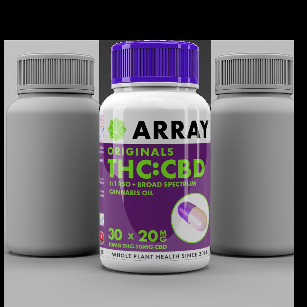 Array Bioceuticals CBD/THC Capsules