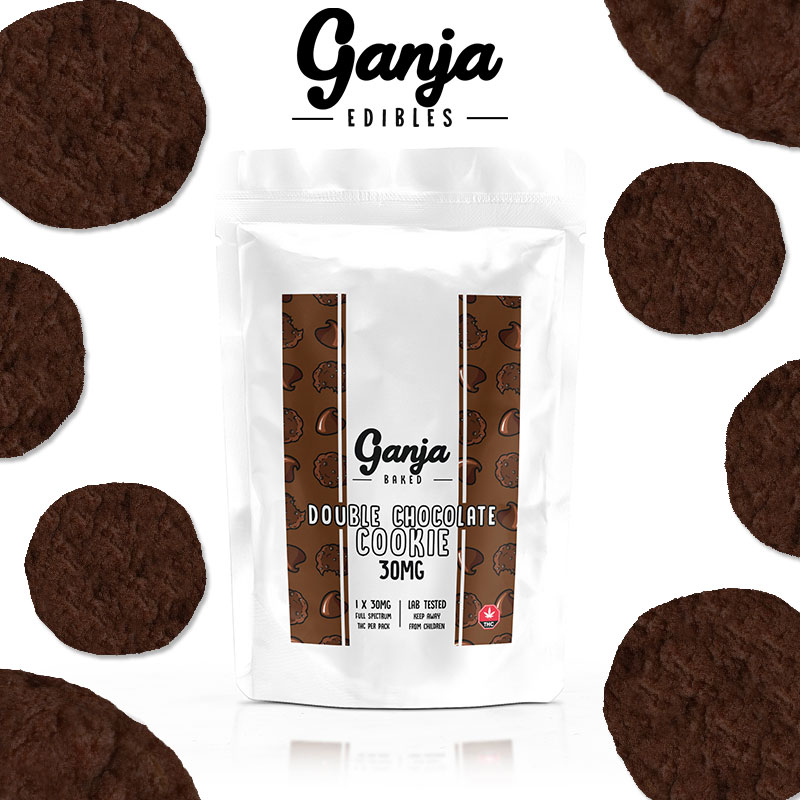 Ganja Baked - Double Chocolate Cookie 30mg