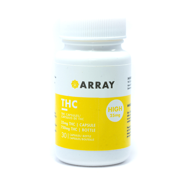 Array Bioceuticals THC Capsules