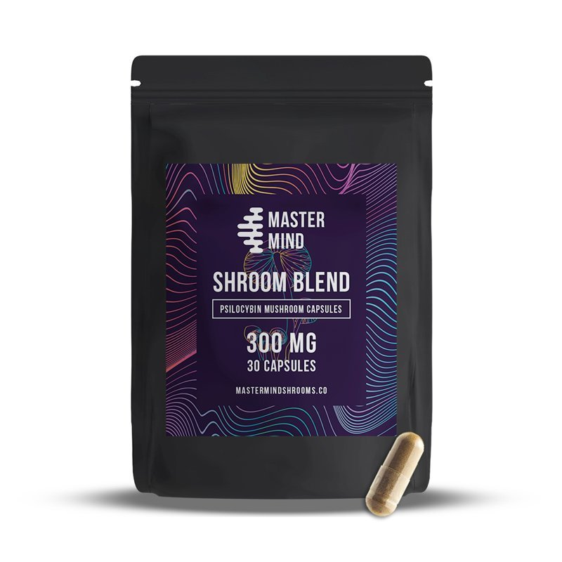MasterMind - Shroom Blend Capsules (30x300mg)