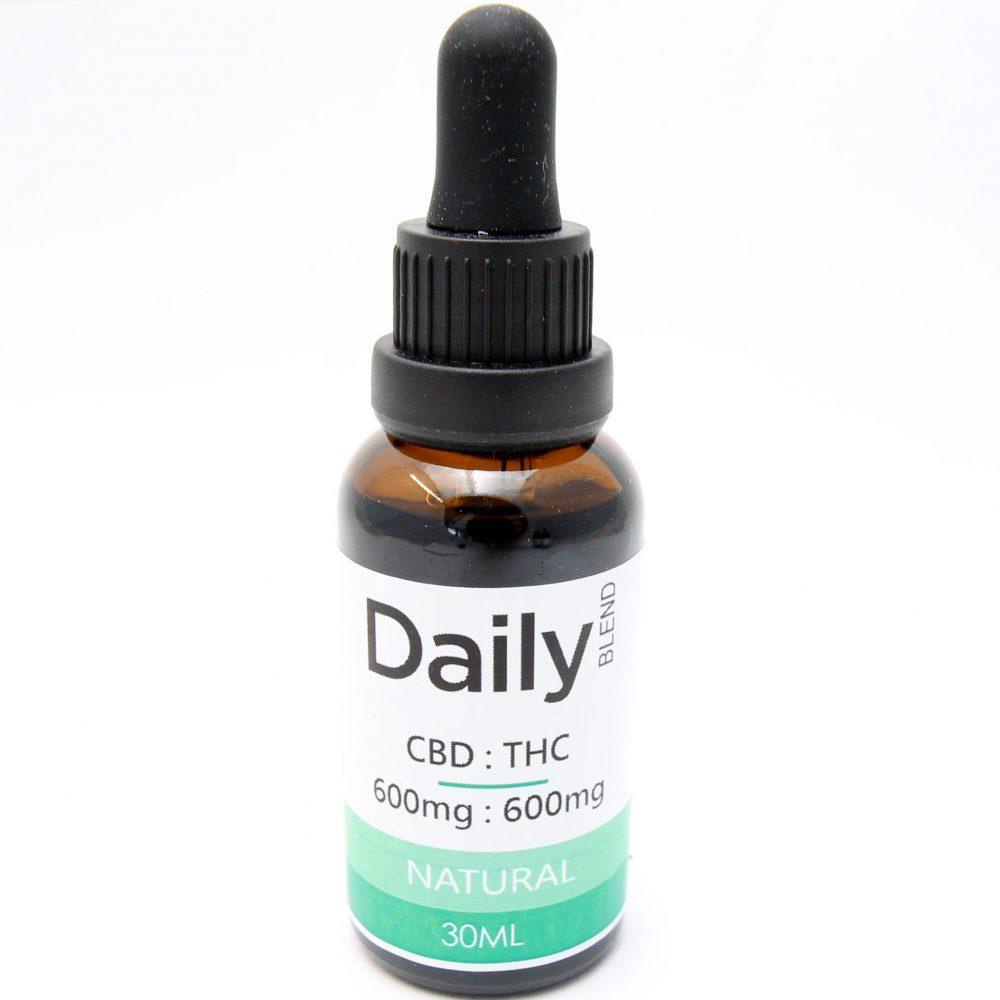 Daily Tincture - CBD:THC Full Spectrum: Natural