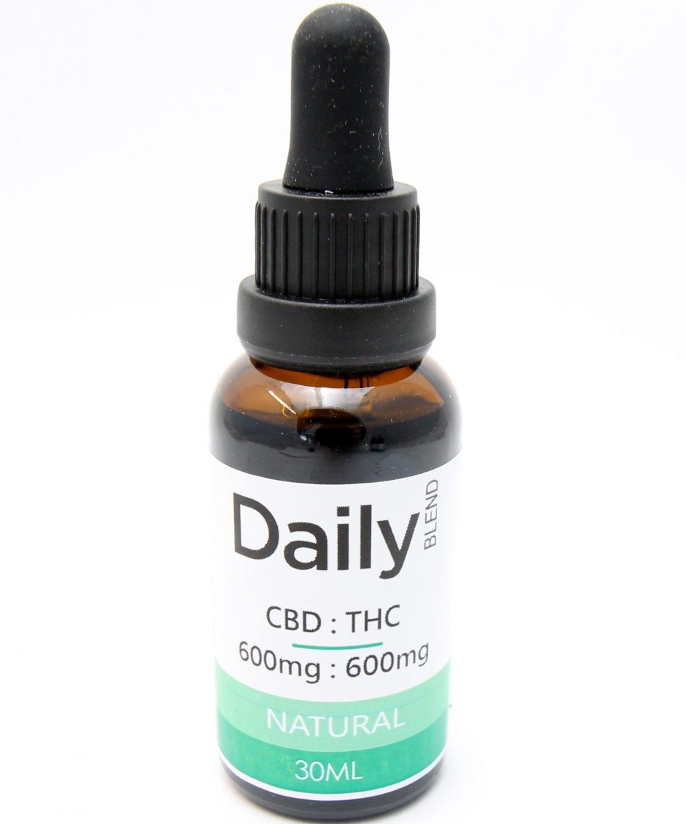 Daily Tincture - CBD:THC Full Spectrum: Natural