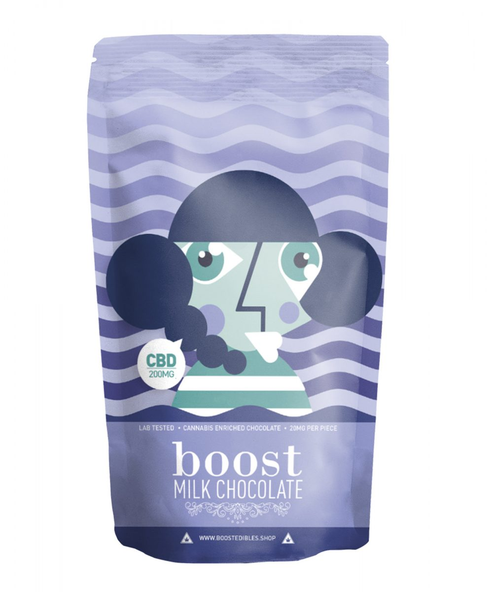 Boost Milk Chocolate Pack - CBD 200mg