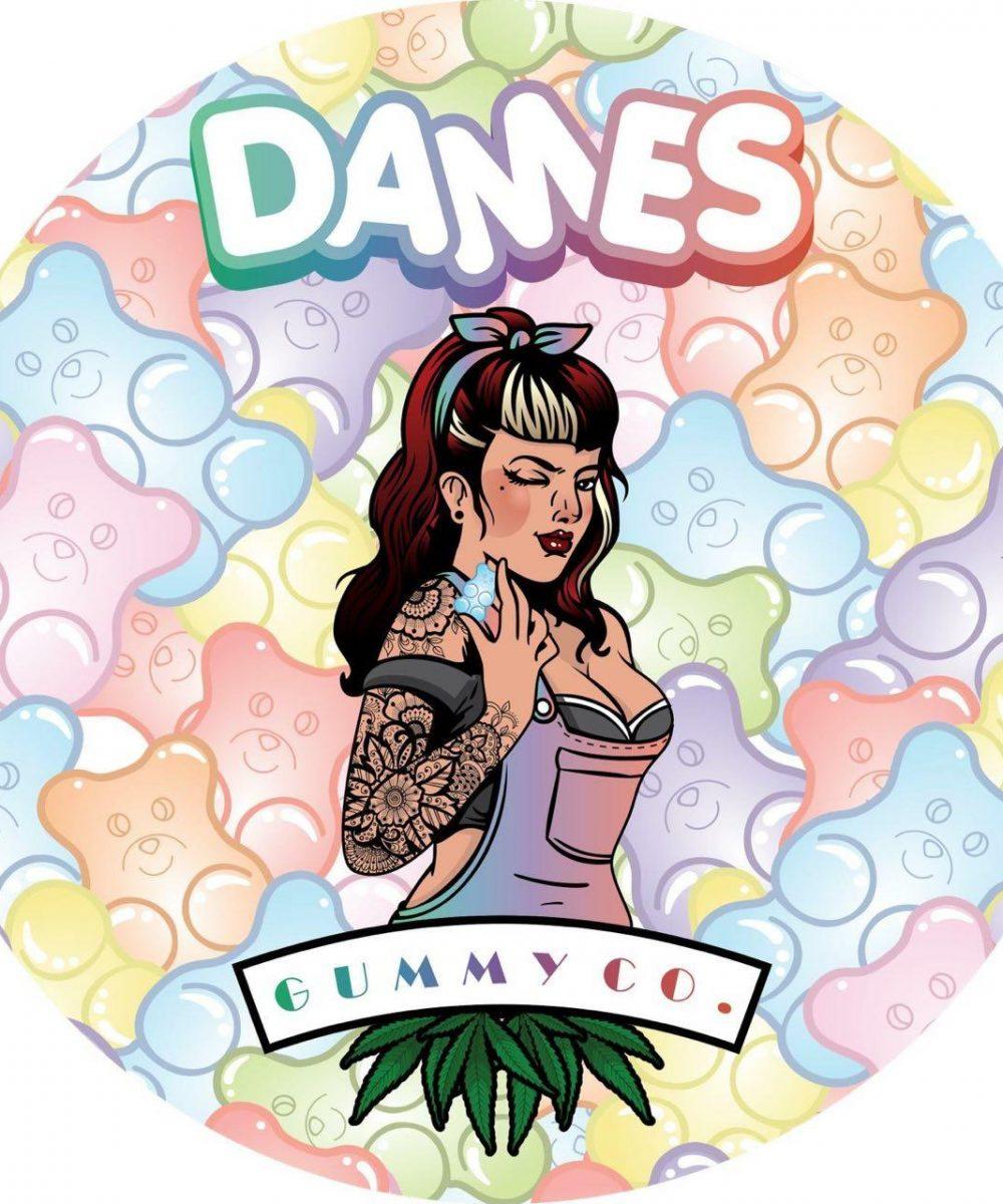 Dames Gummy Co. THC Edibles - 200mg