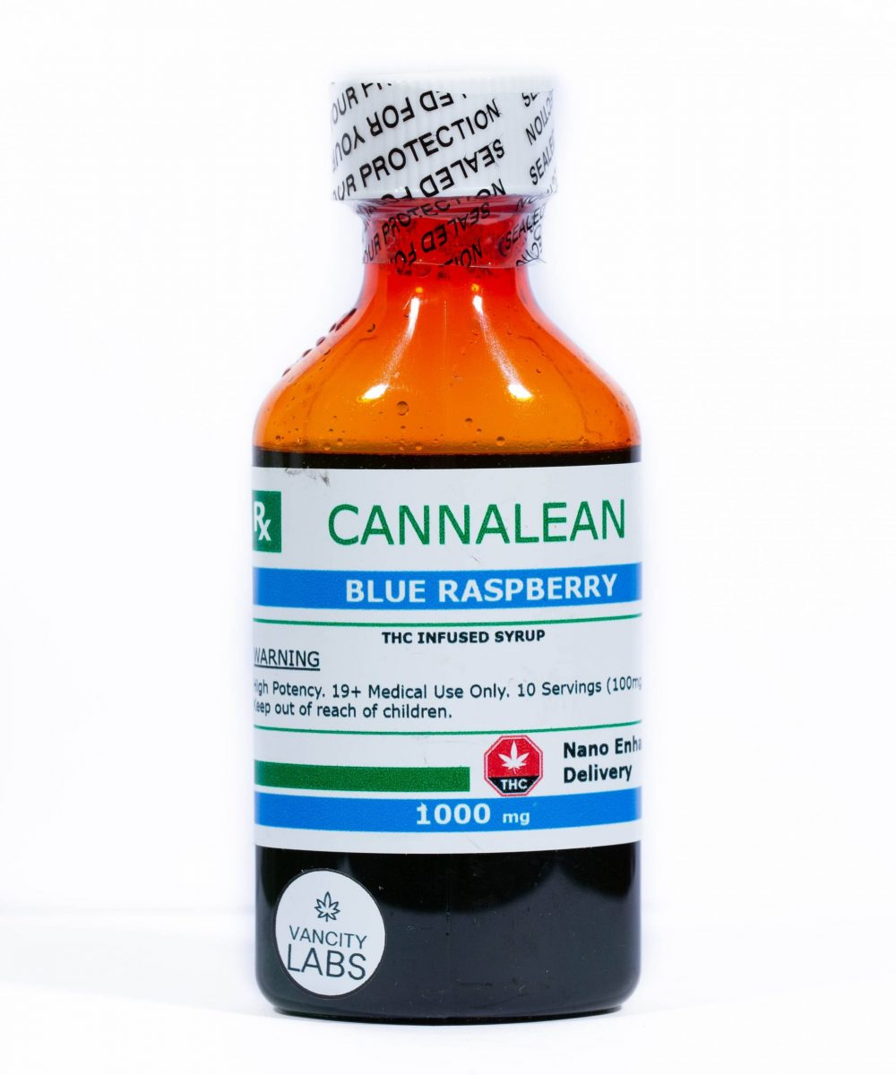 Vancity Labs - Cannalean Infused Syrup (1000mg THC)