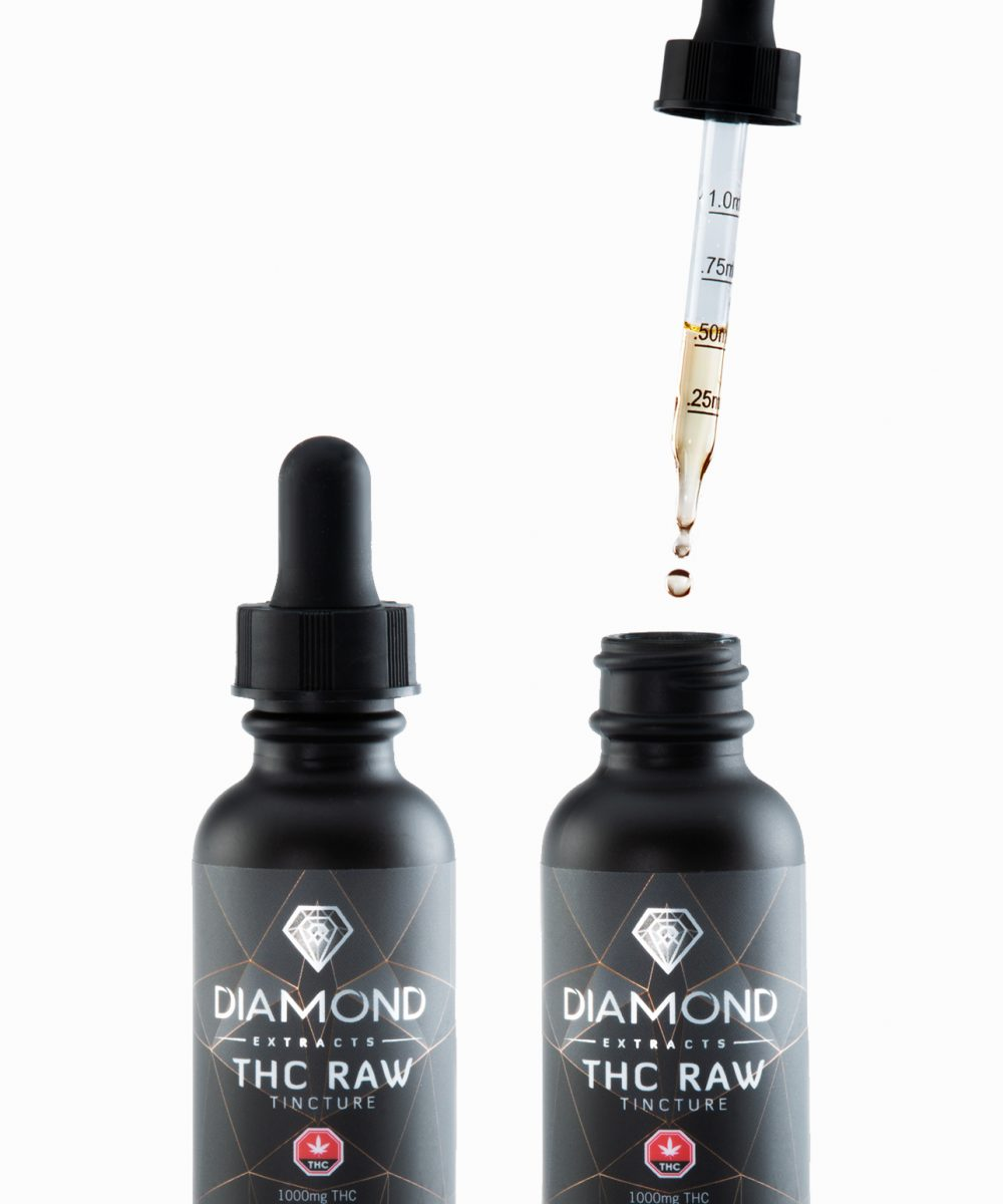 Diamond Concentrates : Live Resin Tincture - 1000mg THC