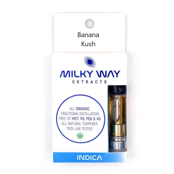 Milky Way THC Vape Cartridges