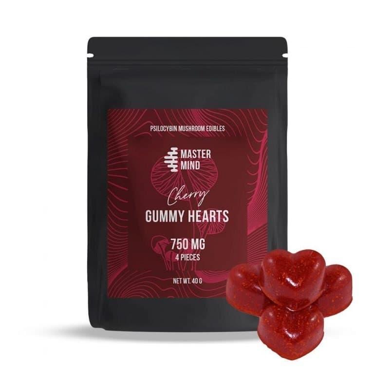 Mastermind - Gummy Hearts (4 x 750mg)