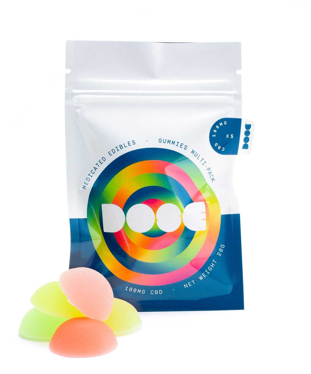 Dose Edibles - Multipack 100mg CBD