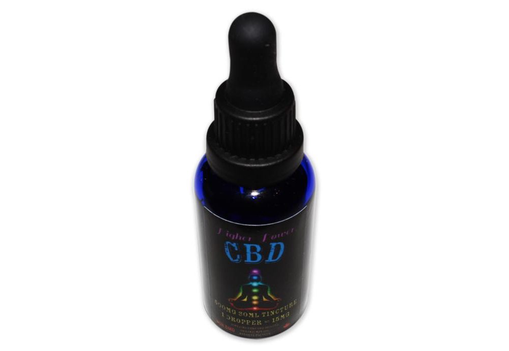 Higher Power CBD Tincture - 500mg 30mL