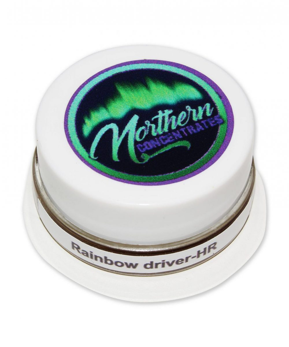 Northern Concentrates - Rainbow Driver Hash Rosin