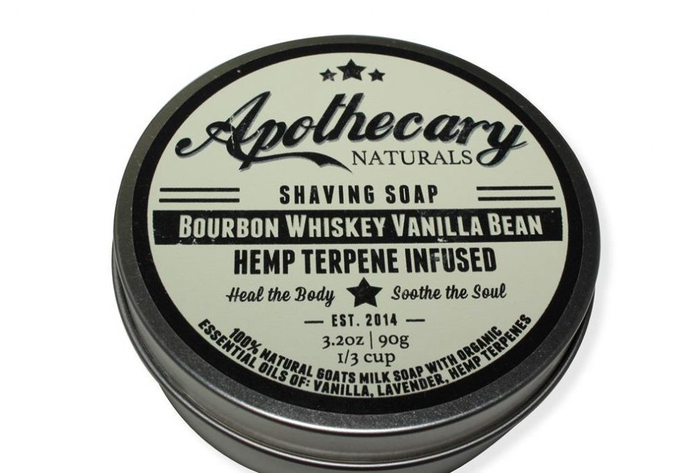 Apothecary - Shaving Soap - Bourbon Whiskey Vanilla Bean