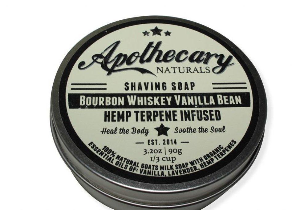 Apothecary - Shaving Soap - Bourbon Whiskey Vanilla Bean