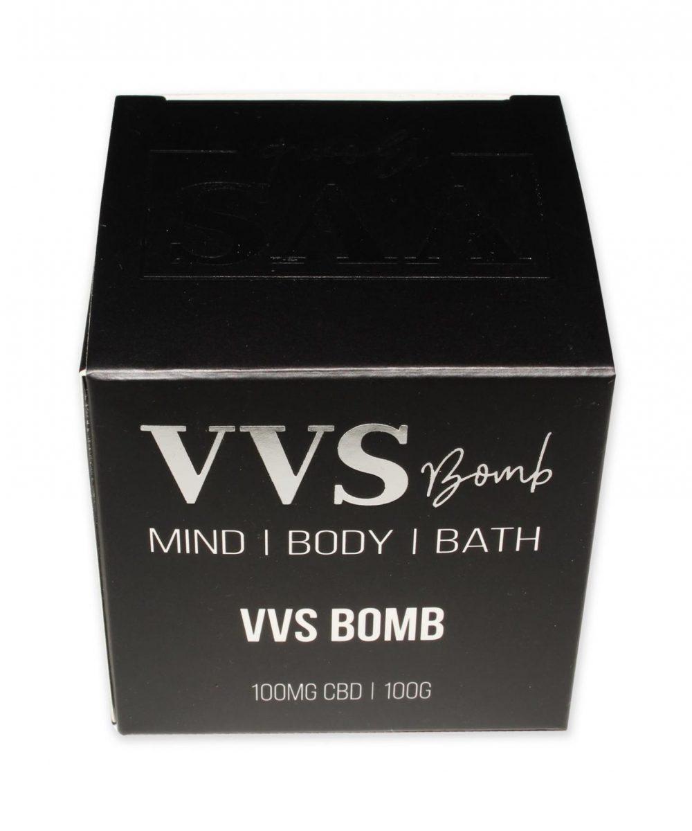 VVS Bomb - Morning Burst Bath Bomb - 100mg CBD