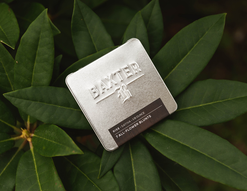 Baxter - Pre Rolled Blunts Tin (7-Pack)