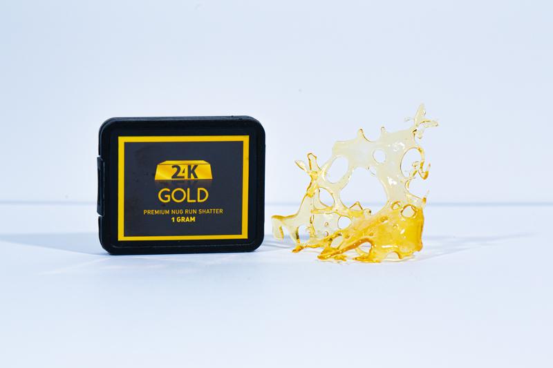 24K Gold Shatter - 1 Gram