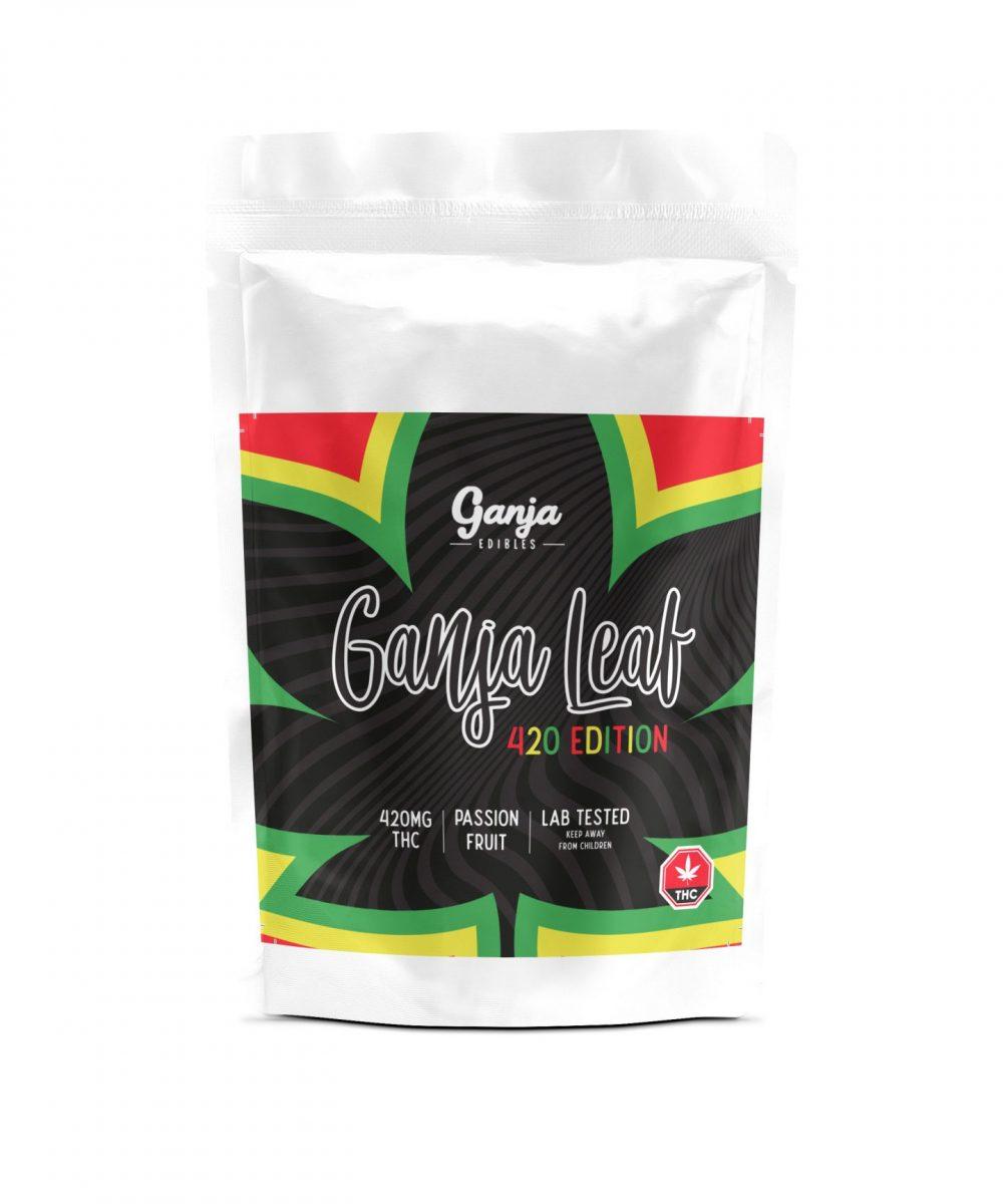 Ganja Leaf Gummies - 4/20 Edition (420mg)