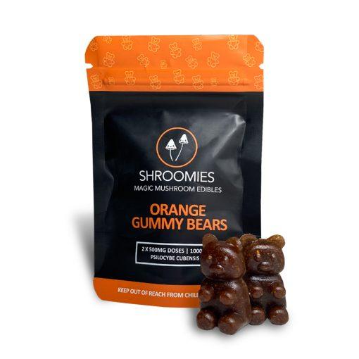 Shroomies - Orange Gummy Bears (1000mg)