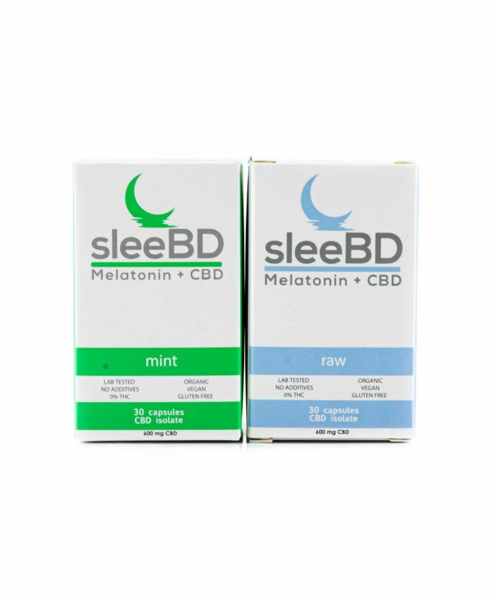 SleeBD Sleep Aid CBD Capsules