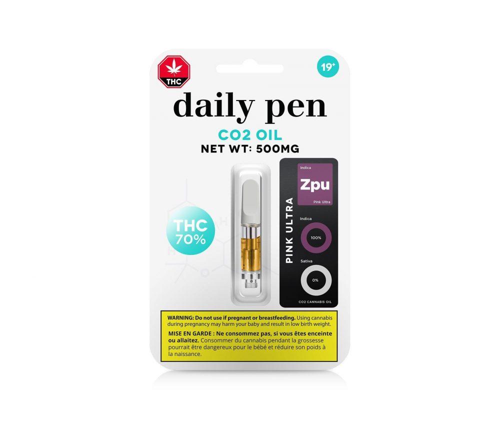 Daily Pen : CO2 Oil Cartridge