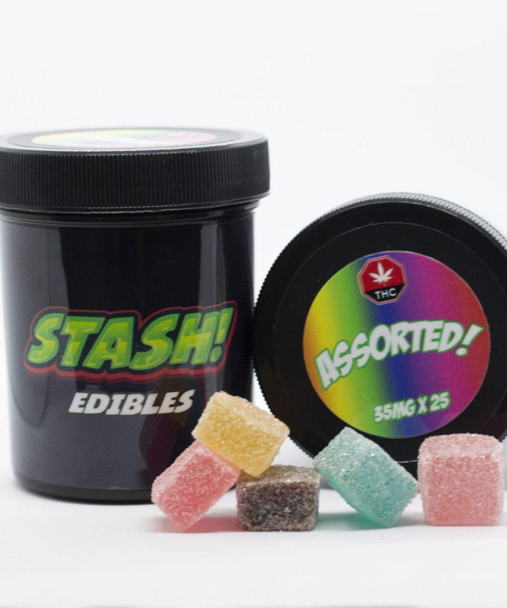 Stash! Edibles - THC Gummies 250mg (10 x 25mg)