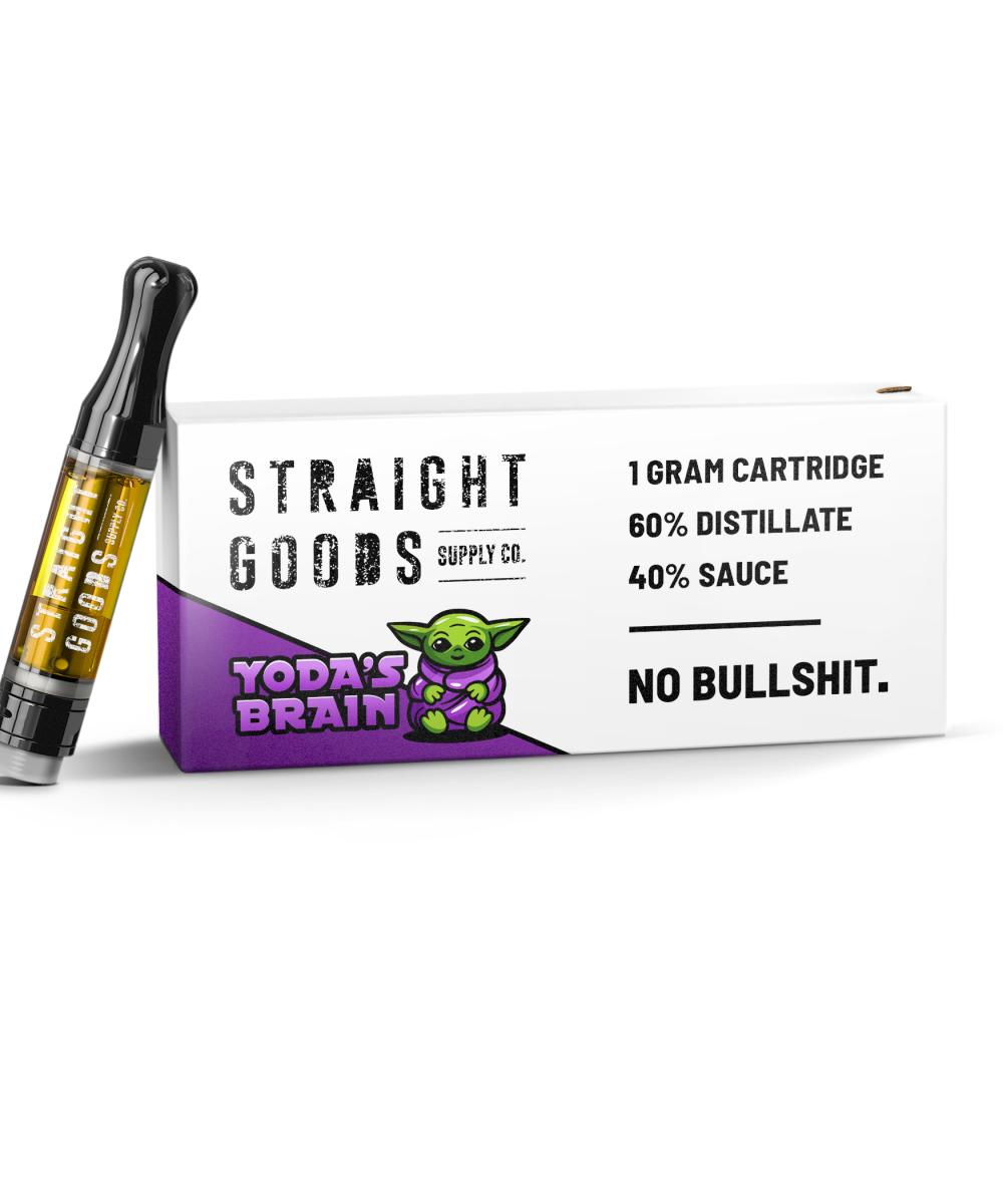 Straight Goods Terp Sauce Cartridge
