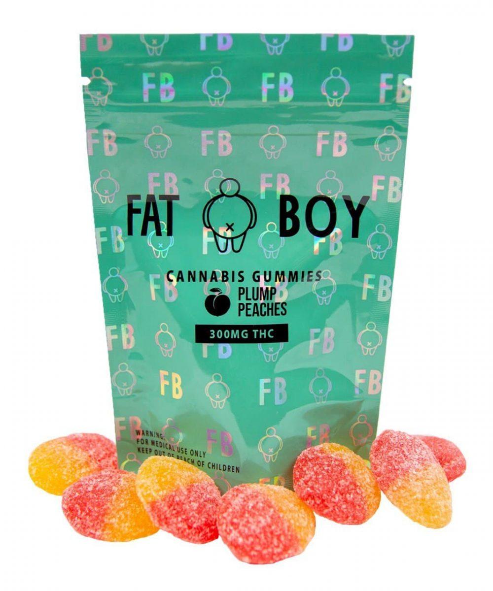 Fat Boy Edibles - 300mg THC Gummies