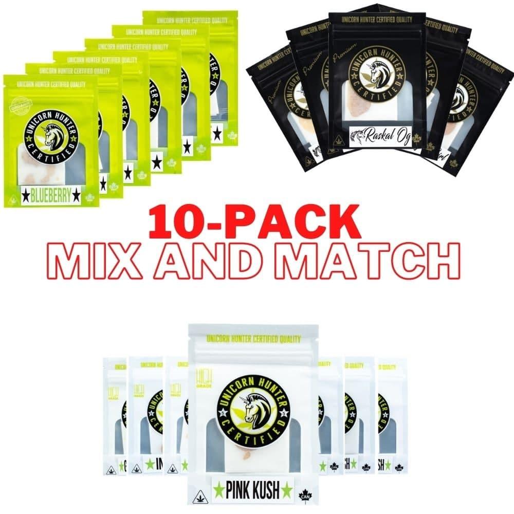 10-Pack Unicorn Hunter Shatter - Mix and Match