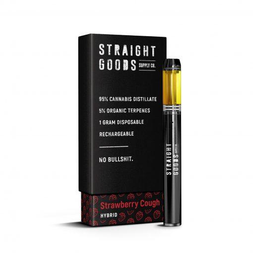 Straight Goods Disposable THC Vape Pen