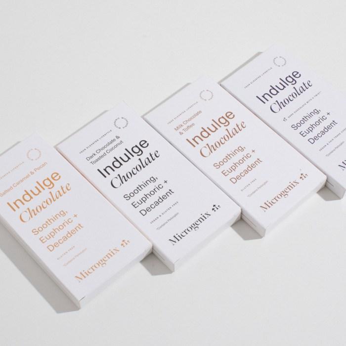 Microgenix - Indulge Chocolate Bar Psilocybin (Vegan)