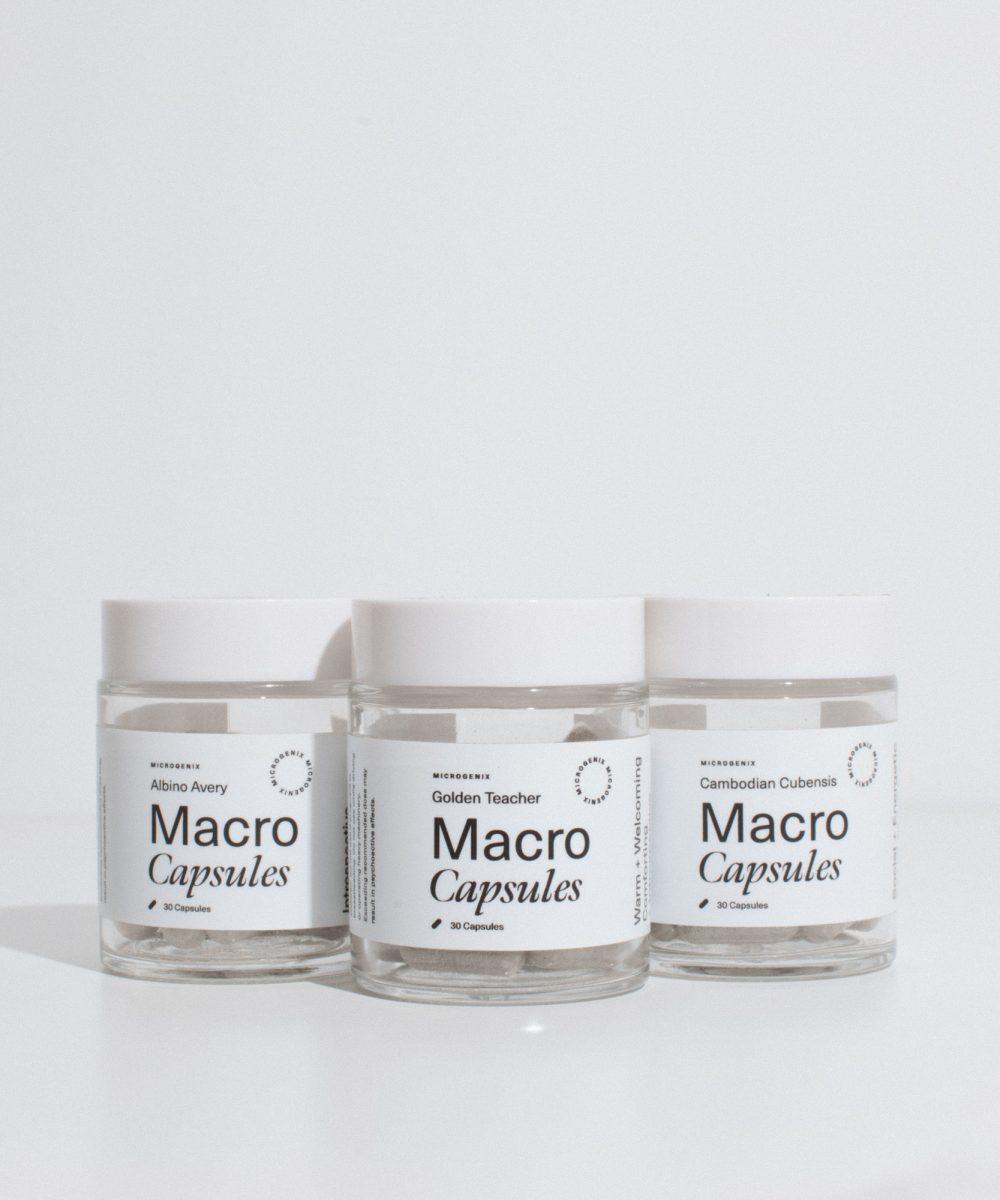 Microgenix Macro Capsules