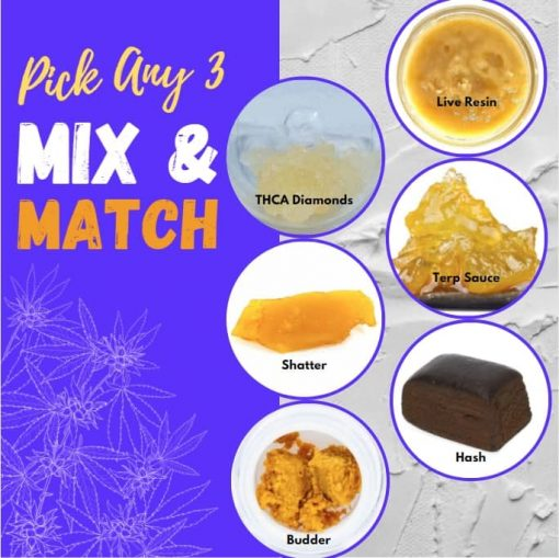 Assorted Concentrates Pack - Mix & Match