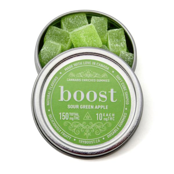 Boost Gummies 150mg THC (15x10mg)