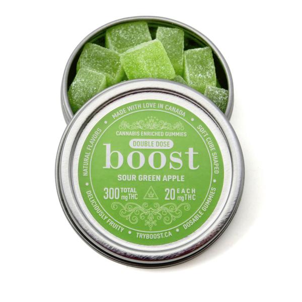 Boost Gummies 300mg THC (15x20mg)