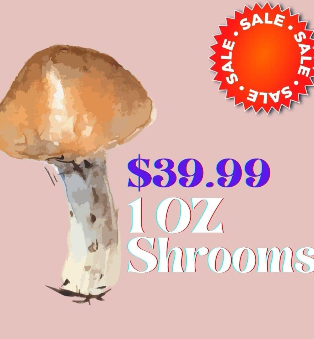 $39.99 OZ MARKED DOWN MUSHROOMS PROMO
